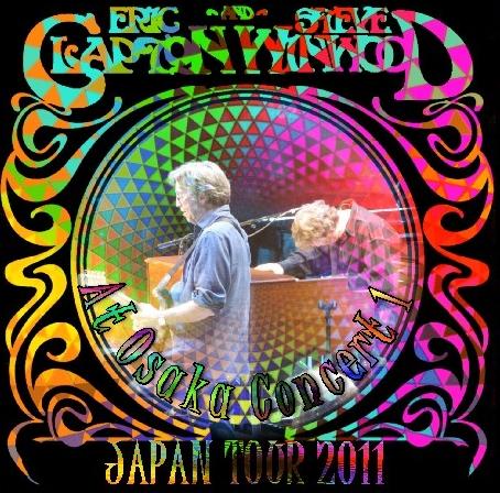 コレクターズCD エリッククラプトン&スティーブウインウッド2011年日本公演