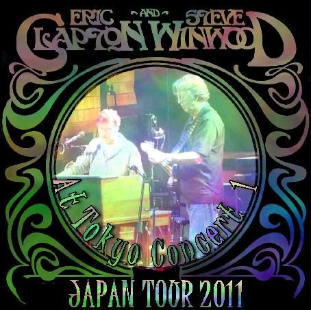 コレクターズCD Winwood&Clapton 2011年 日本公演