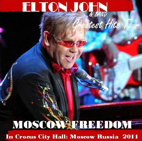 コレクターズCD Elton John(エルトン・ジョン) 2011年ヨーロッパ公演