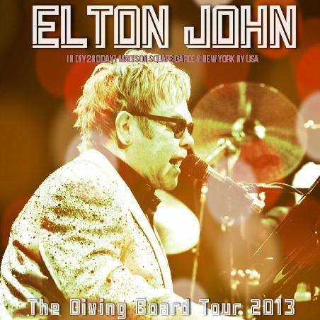 コレクターズCD エルトン・ジョン 2013年アメリカツアー( The Diving Board Tour)