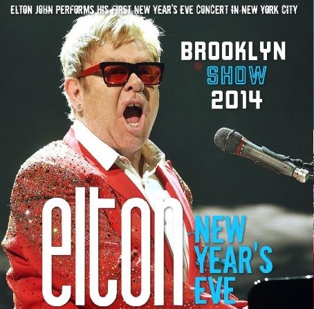 コレクターズCD エルトン・ジョン 2014年12月31日 ニューヨーク