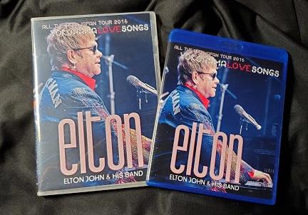 コレクターズDVD Blu-ray  Elton John - All the Hits  Japan Tour 2015