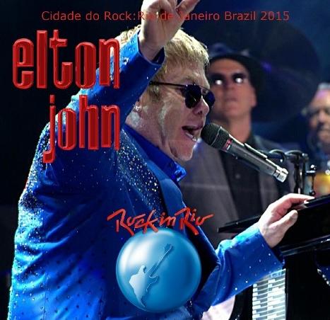 コレクターズCD エルトンジョン 2015年南米公演 ロックインリオ
