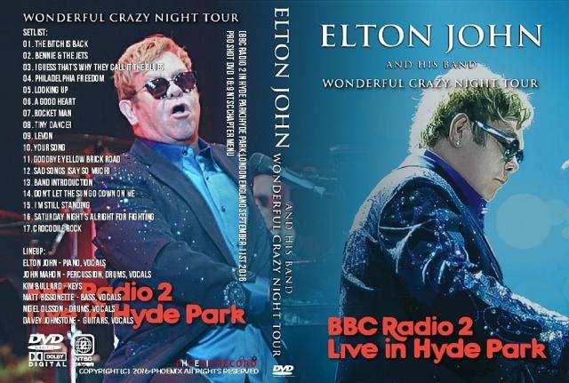 コレクターズDVD エルトンジョン 2016年ヨーロッパツアー Wonderful Crazy Night Tour 2016