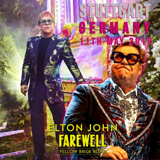 コレクターズCD Elton John - Farewell Yellow Brick Road World Tour 2019