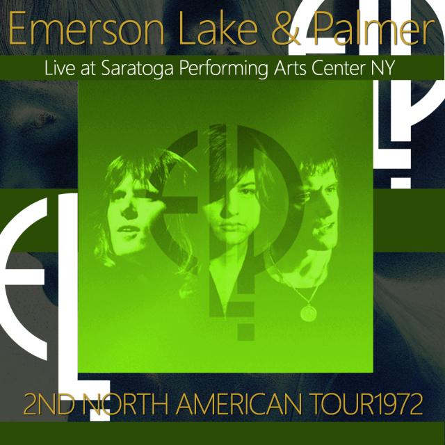 コレクターズCD Emerson, Lake & Palmer - Trilogy Tour 1972