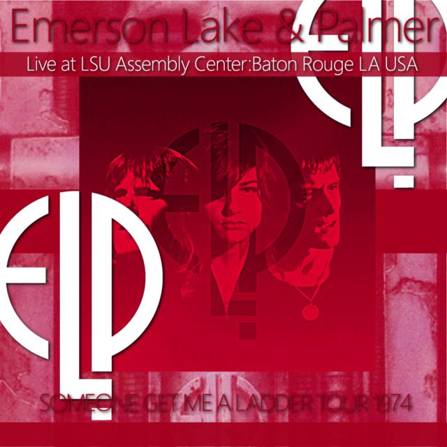 コレクターズCD Emerson, Lake & Palmer - Someone Get Me A Ladder Tour 1974
