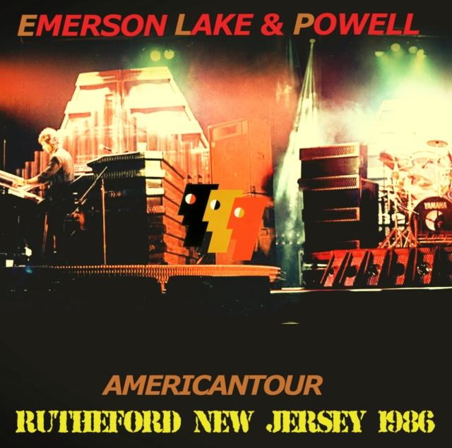 コレクターズCD エマーソン レイク&パウエル 1986年アメリカツアー