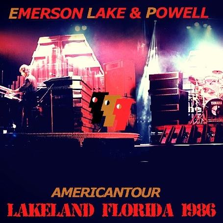 コレクターズCD エマーソンレイク&パウエル 1986年アメリカツアー