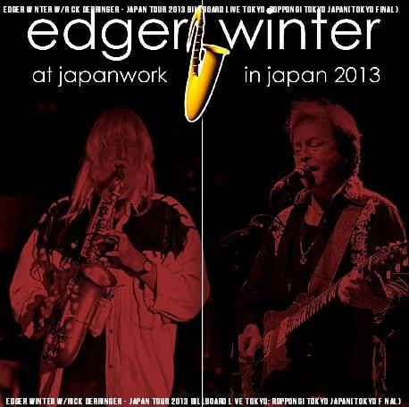 コレクターズCD エドガー・ウインター 2013年日本公演 東京