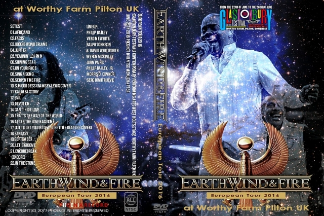 コレクターズDVD Earth, Wind & Fire - European Tour 2016