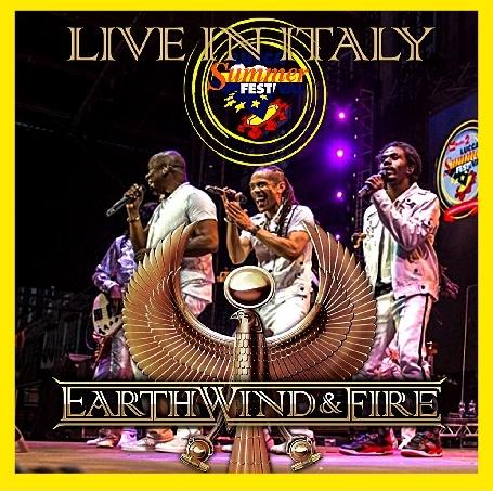 コレクターズCD Earth, Wind & Fire 2016年ヨーロッパツアー