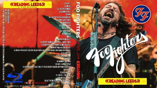 コレクターズBlu-ray Foo Fighters - European Tour 2019