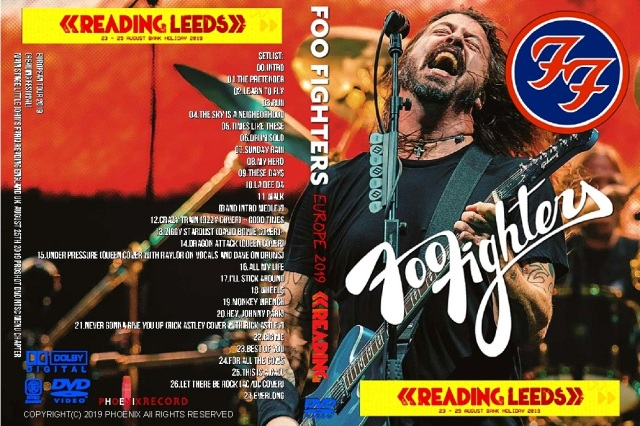 コレクターズDVD Foo Fighters - European Tour 2019
