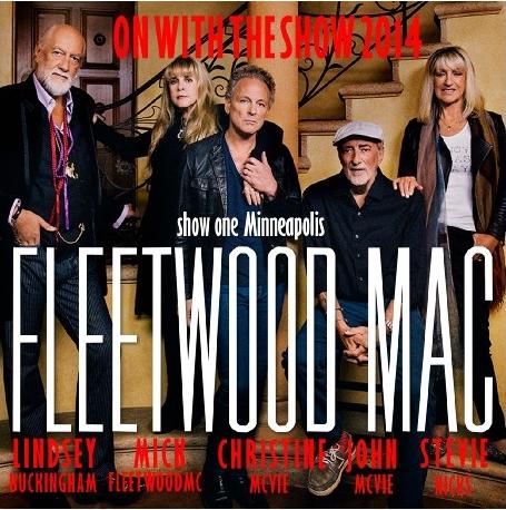 コレクターズCD フリートウッド・マック(Fleetwood Mac)2014年アメリカツアー On With The Show