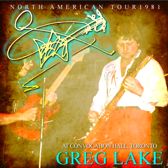 コレクターズCD Greg Lake with Gary Moore - North American Tour 1981