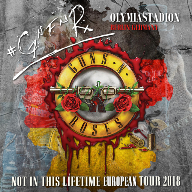 コレクターズCD Guns 'n Roses - Not in this Lifetime European Tour 2018