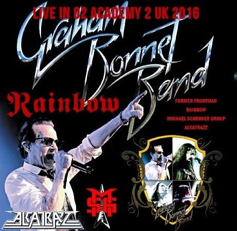 コレクターズCD グラハムボネットバンド 2015年日本公演2016年ヨーロッパツアー