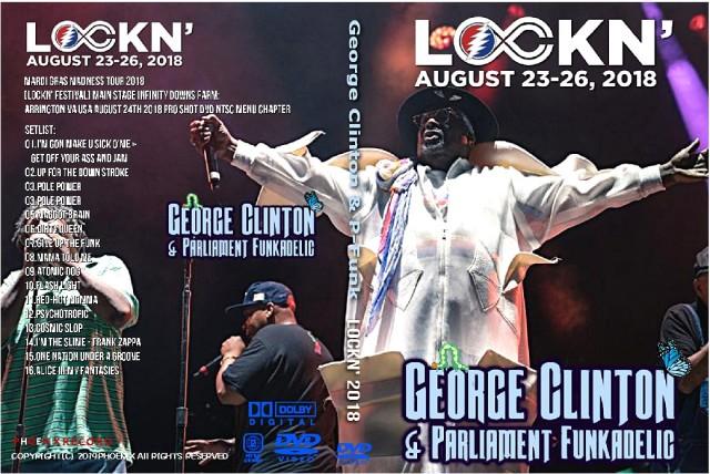 コレクターズDVD George Clinton & P-Funk - Mardi Gras Madness Tour 2018