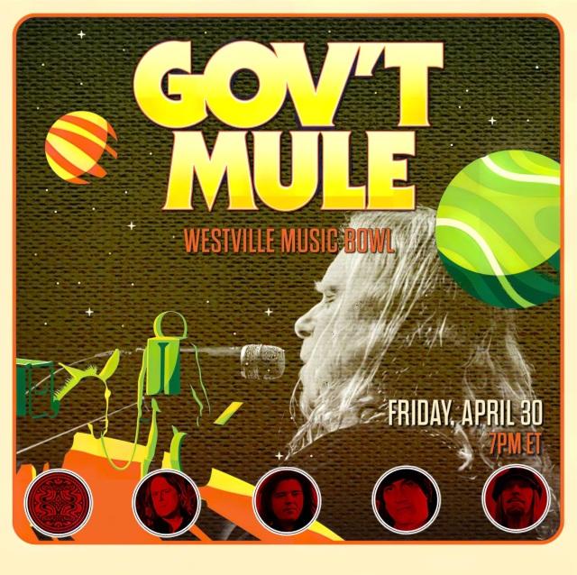 コレクターズCD Gov't Mule - Westville Music Bowl 2021