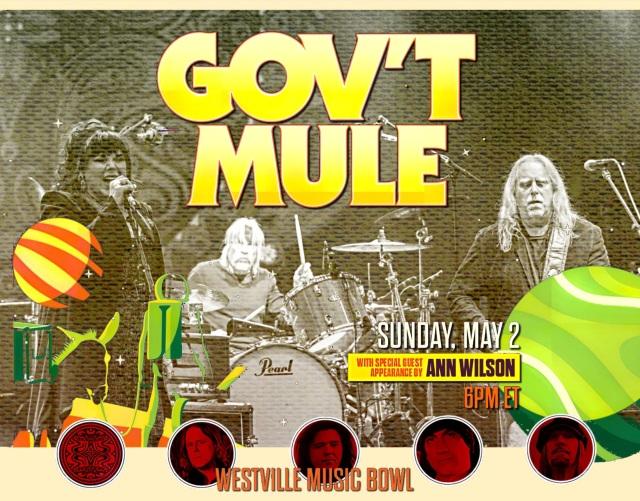 コレクターズCD Gov't Mule - Westville Music Bowl 2021 Final
