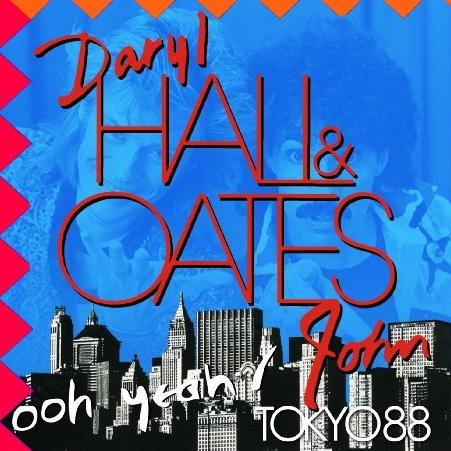 コレクターズCD ダリル・ホール&ジョン・オーツ(Hall&Oates)1988年日本公演