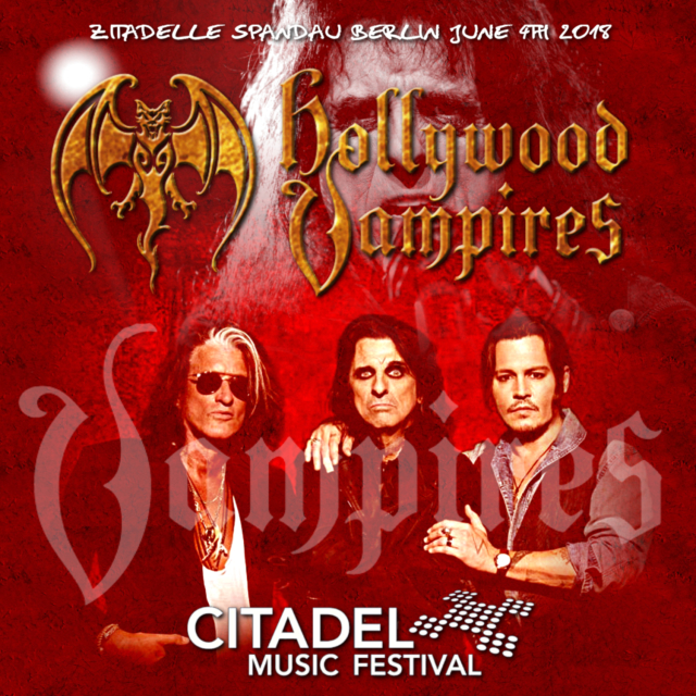 コレクターズCD HOLLYWOOD VAMPIRES - in Germany 2018