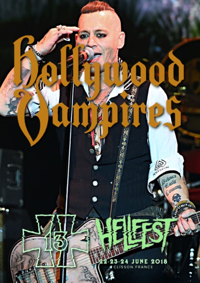 コレクターズDVD Hollywood Vampires - European Tour 2018
