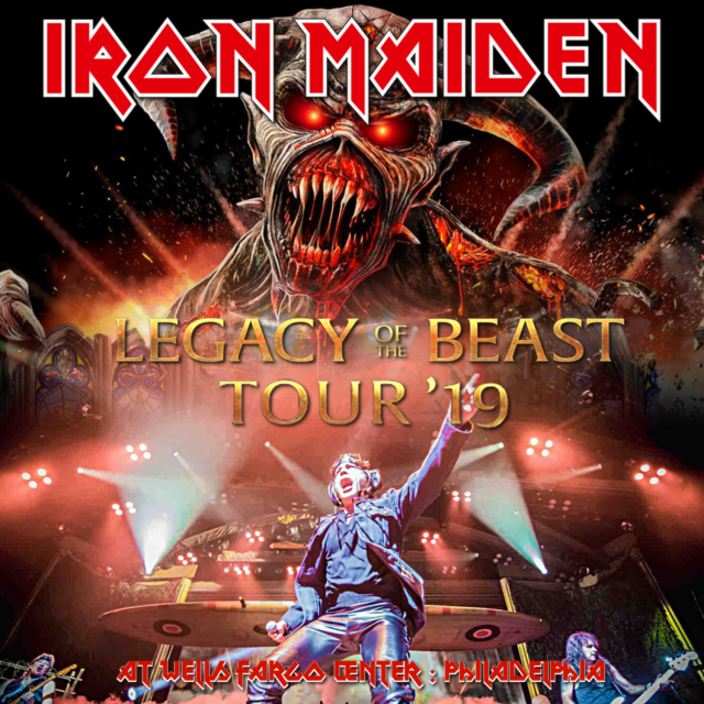 コレクターズCD Iron Maiden - Legacy of the BeastWorld Tour 2019