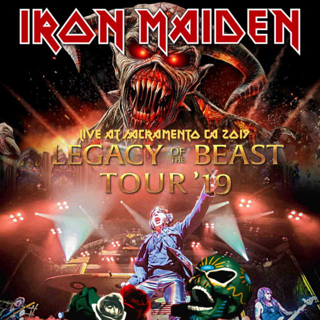 コレクターズCD Iron Maiden - Legacy Of The Beast US Tour 2019