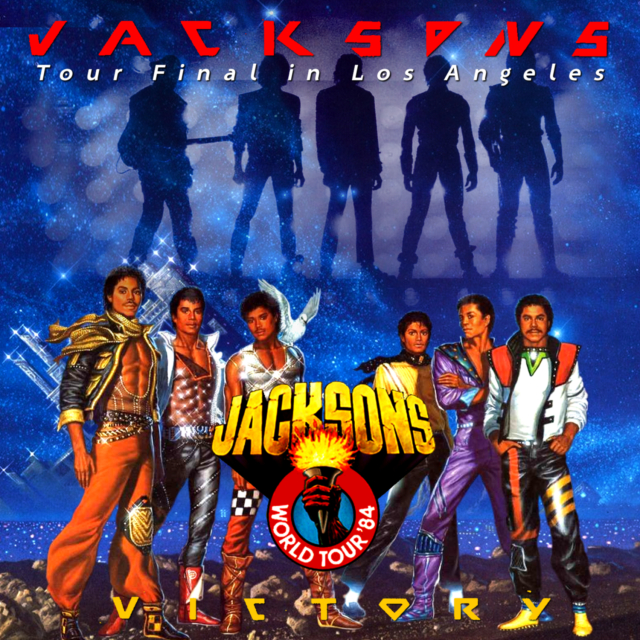 コレクターズCD The Jacksons - Victory Tour 1984 Final
