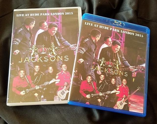 ジャクソンズ 2015年UKツアー ロンドン Proshot Blu-ray