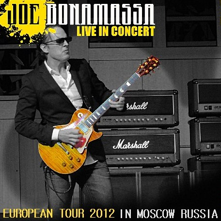 コレクターズCD ジョー・ボナマッサ(Joe Bonamassa)2012年ヨーロッパツアー