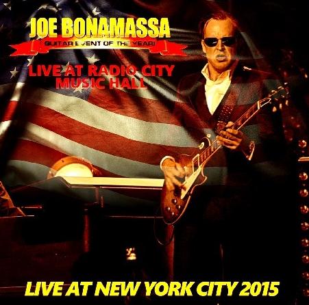 コレクターズCD ジョー・ボンナマッサ2015年アメリカツアー