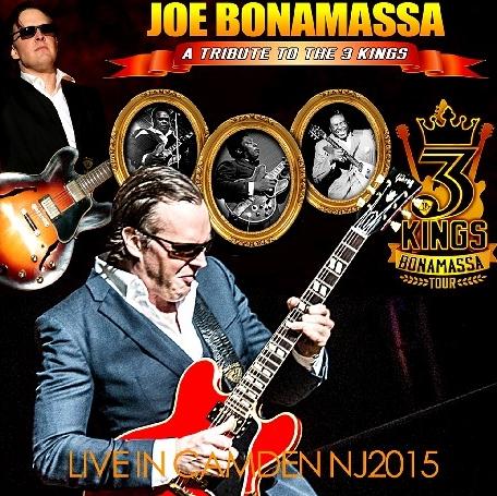 コレクターズCD ジョー・ボナマッサ(Joe Bonamassa)2015年 サマーツアー(Tribute To The 3 Kings Tour 2015