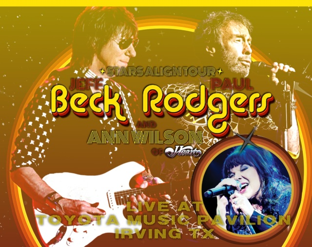 コレクターズCD Beck Rodgers & Wilson - The Stars Align Tour 2018
