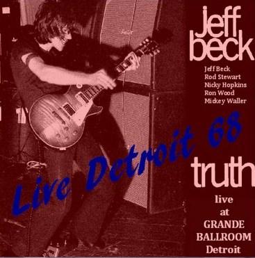 JEFF BECK GROUP(ジェフベックグループw/ロッド・スチュアート アメリカツアー1968 Detroit)/Us Tour1968.11.3