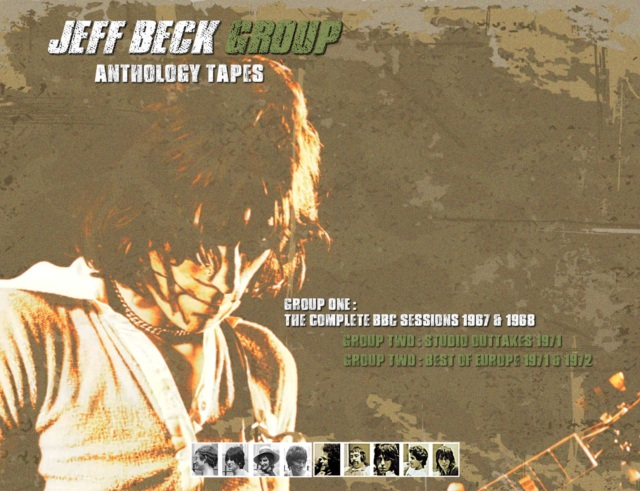 コレクターズCD Jeff Beck Group - Anthology tapes