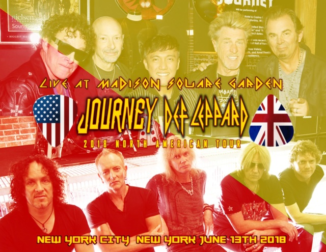 コレクターズCD Journey & Def Leppard- North American Tour Tour 2018