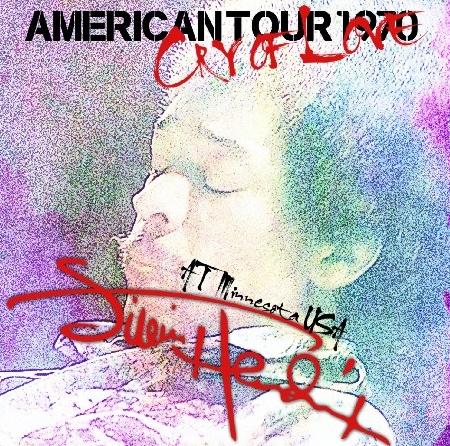 コレクターズCD ジミ・ヘンドリックス 1970年アメリカツアー