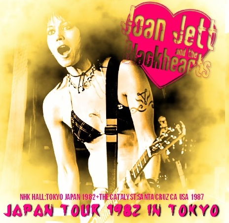 コレクターズCD JOAN JETT(ジョーン・ジェット) 1982年日本公演