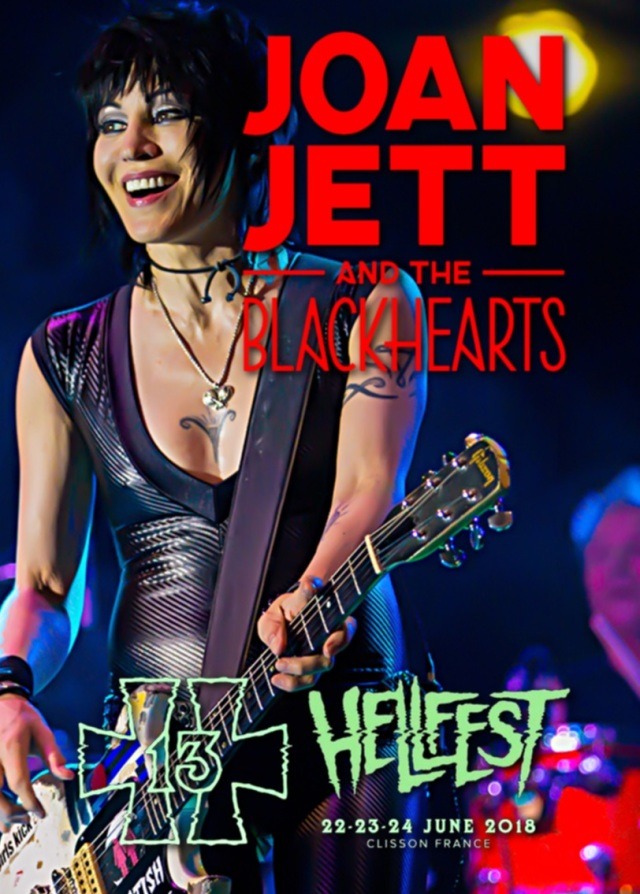 コレクターズCD Joan Jett and the Blackhearts -  - European Tour 2018