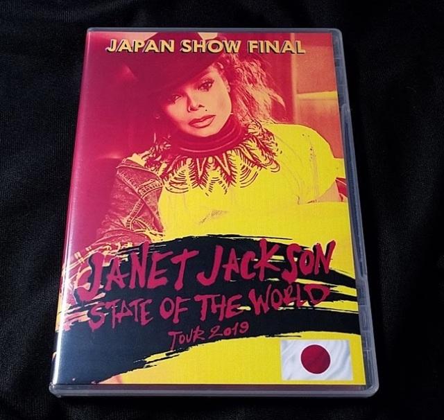 コレクターズCD ジャネットジャクソン2019年日本公演