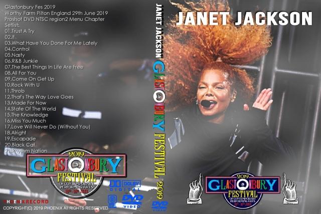 コレクターズDVD Janet Jackson - Glastonbury Fes 2019