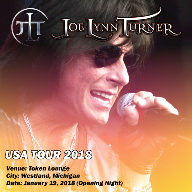 コレクターズCD Joe Lynn Turner - USA Tour 2018