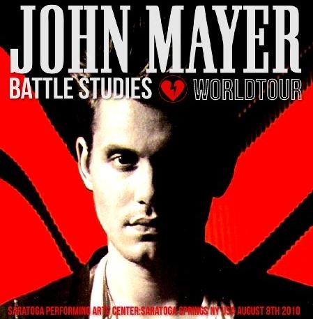 コレクターズCD  ジョンメイヤー2010年アメリカ公演 Battle Studies Tour 2010