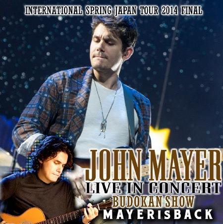 コレクターズCD  ジョンメイヤー 2014年日本公演  International Spring Japan Tour 2014