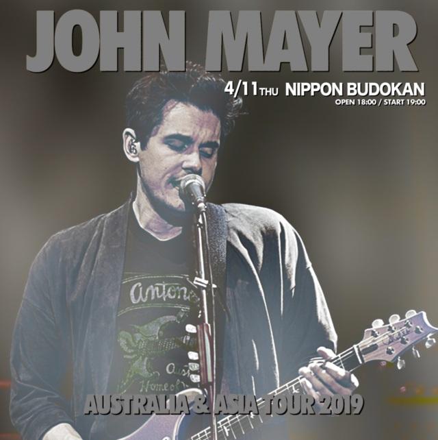 コレクターズCD John Mayer - Japan Tour 2019