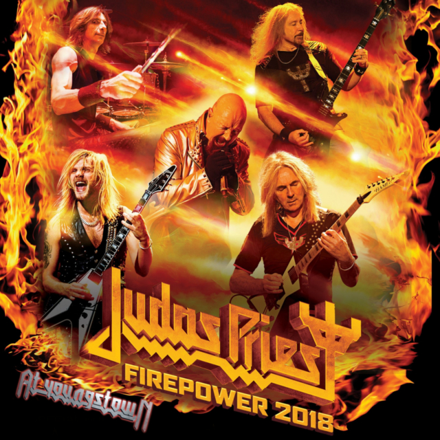 コレクターズCD Judas Priest - Firepower Tour 2018