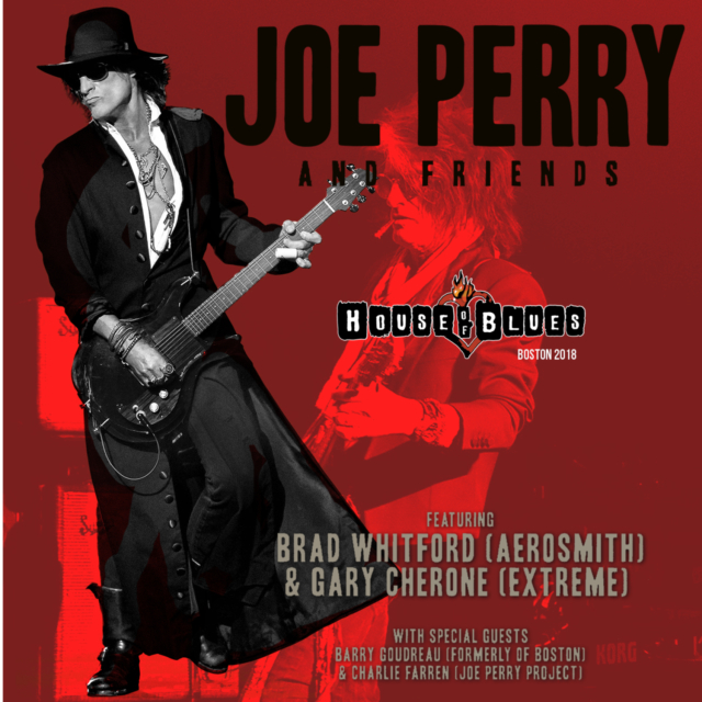 コレクターズCD Joe Perry & Friends in Boston 2018